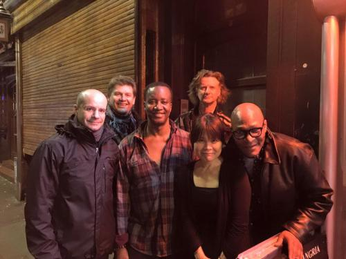 at Jazz After Dark, Soho, with Andrew Mckay, Sergio Camassa, Paul Canton, Keith Hodiak and Aurelius Sciuka